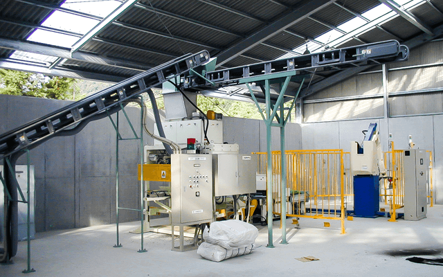 Automatic packing facility